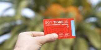 Tarjeta Soy Tigre