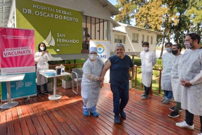 vacunación covid adultos mayores hospital do porto san fernando