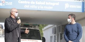Gollán-Achával-inauguración-centro de salud monterrey