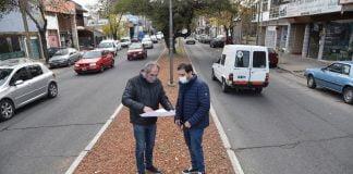 fernando moreira anuncio nuevas obras en la avenida 25 de mayo