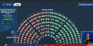 diputados tv votacion ganancias