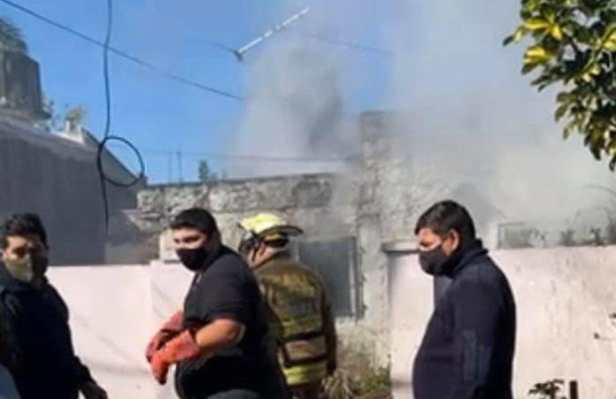 incendio barrio cri cri
