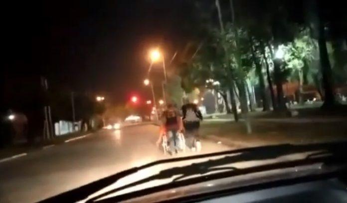 merlo padre silla ruedas hospital