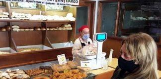 panaderia comercio barbijo esencial