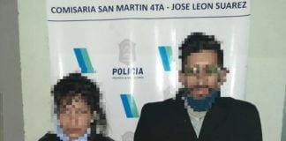 pareja umbandistas san martin beba detenido