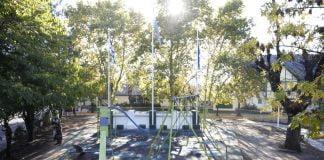 plaza ciudad jardín