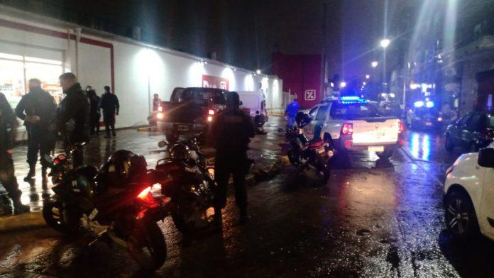robo camioneta ituzaingó, persecución ciudadela