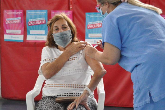 vacuna coronavirus provincia moron