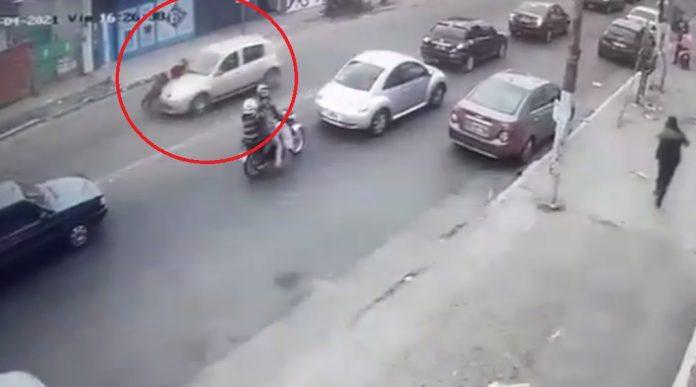 auto agente transito jose c paz