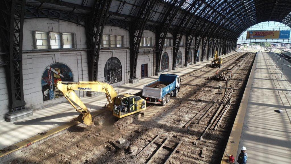 estacion retiro 2021 obras