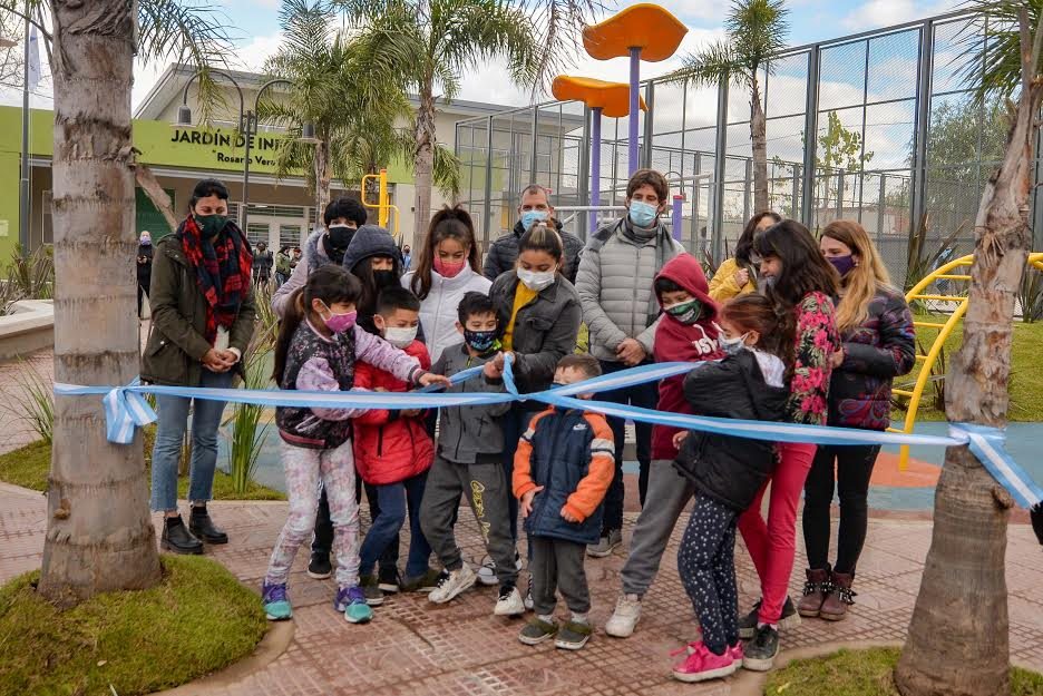 inauguracion plaza san jorge