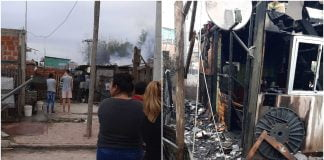 incendio barrio el ahorcado donaciones