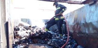 incendio planta fv destacamento villa rosa