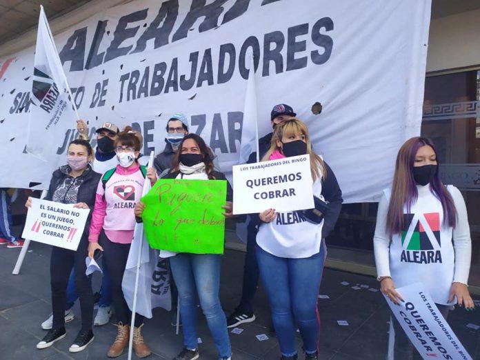 marcha trabajadores bingo ciudadela