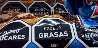 etiquetado frontal supermercado
