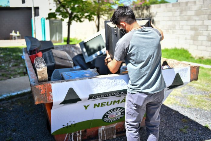 residuos electronicos reciclado