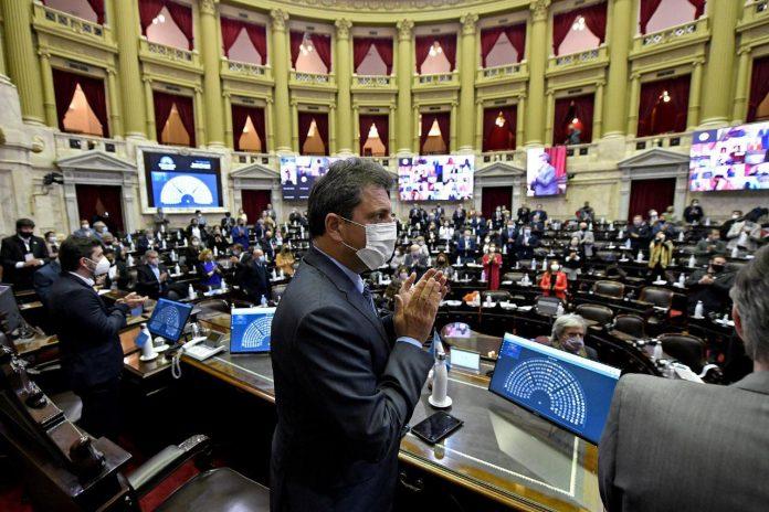 sergio massa sesion diputados nacion