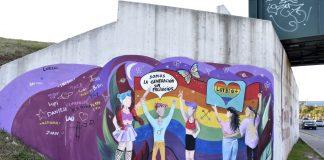 mural-LGBTIQ+-el-talar