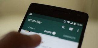 whatsapp chat mensaje
