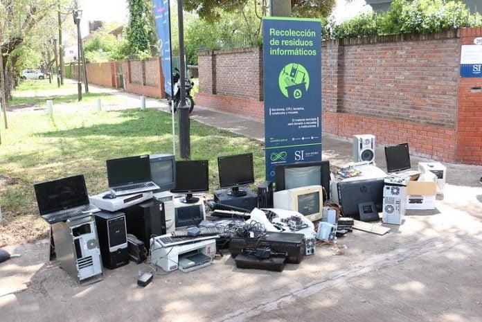 campana residuos electronicos