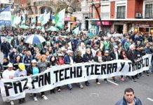 marcha san cayetano movimientos sociales
