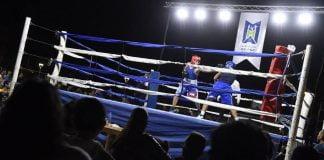 pelea boxeo malvinas argentinas