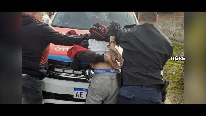 persecucion detenido moto rincon tigre