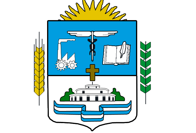 escudo del partido de tres de febrero