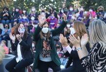 nancy cappelloni participó de un encuentro de mujeres junto a victoria tolosa paz, cristina Álvarez rodríguez y otras referentes políticas
