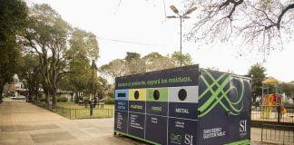 nuevo ecopunto en plaza castiglia