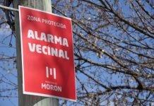 alarma vecinal morón