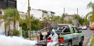 fumigación dengue