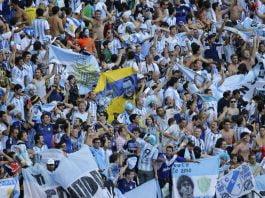 hinchas argentinos copan el estadio mineirao belo horizonte el mundial brasil 2014