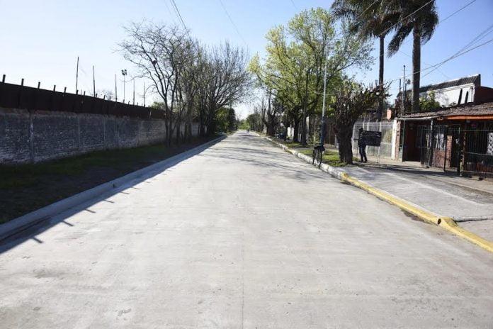 pavimento barrio rodríguez