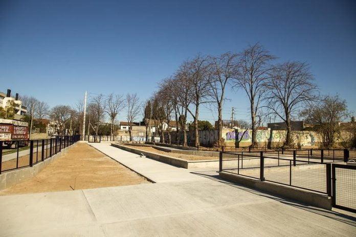 plaza beccar construcción