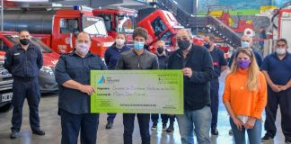 bomberos voluntarios subsidio