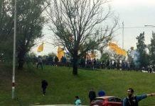 foto panamericana protesta colectivos